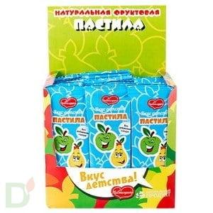 Пастила фруктовая ПАСТИЛУШКА ЯБЛОКО-ГРУША, 420г купить в интернет-магазине, цена на сайте - ДиаМарка