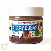 Арахисовая паста ШОКОЛАДНАЯ Happy Monkey